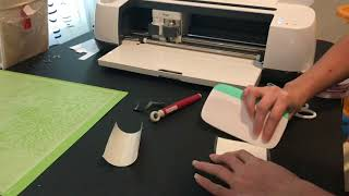 Reverse Weeding Small and Thin Fonts with Adhesive Vinyl Cut with Your Cricut
