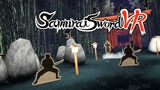 Samurai Sword HTC Vive VR - Announcement Trailer