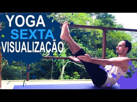 Sexta-feira: VISUALIZAÇÃO 🍃Yoga Matinal & Yoga para iniciantes