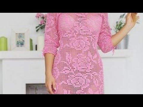 филейное вязание крючком платья 2019 Knitting Pattern Knitting