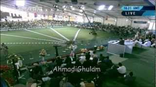 Musawar Ahmad - Jalsa Salana UK 2012 - Nishan Ko Dekh Kar Inkaar Kab Tak Pesh Jae Ga - Nazam