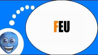 Французского видео урок = Слоги с F #