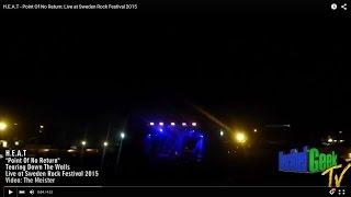 H.E.A.T - Point Of No Return: Live at Sweden Rock Festival 2015