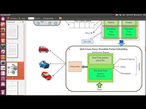 LTE Downlink Packet Scheduling VANET Vehicular Network Simulation Thesis