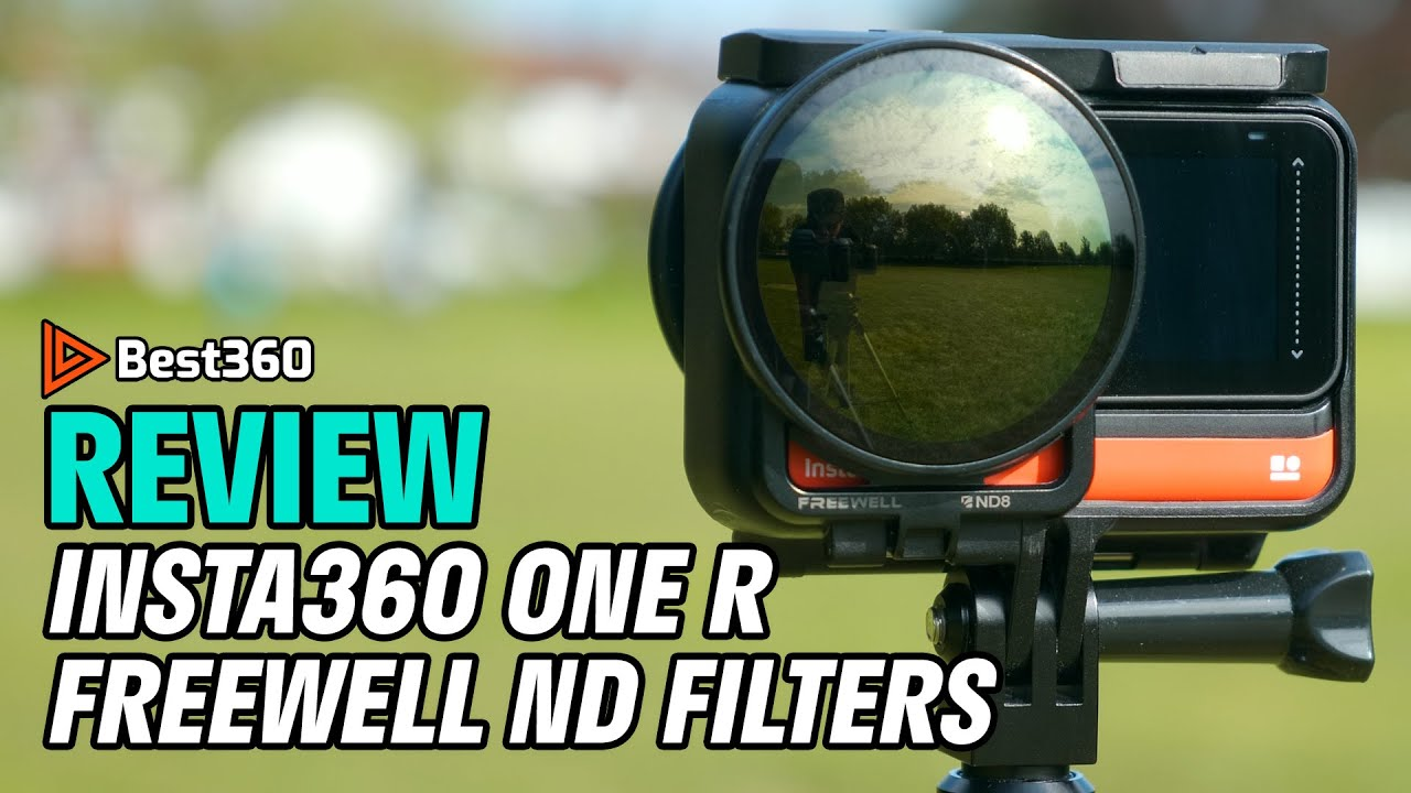 1- Inch Edition 4K Series Freewell Bright Day 3Pack Filters Compatible with Insta360 One R