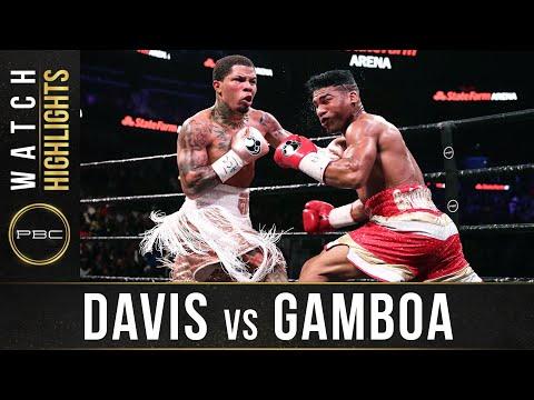 Gervonta Davis vs. Yuriorkis Gamboa / Джервонта Дэвис - Юриоркис Гамбоа