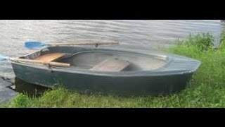 """Лодка """"Октябрина"""". Восстановление и реставрация. Часть#10.  Спуск на воду."""
