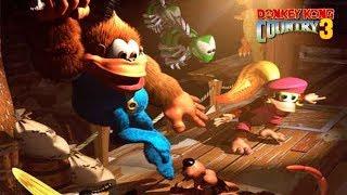 Donkey Kong Country - Gameplay Español
