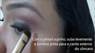 Maquiagem inspirada em Anahí