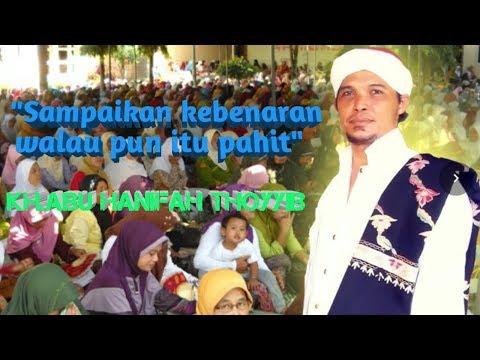 Ceramah paling berani KH.Abu Hanifah Jakarta Terbaru