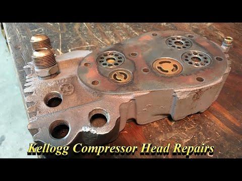 Kellogg Compressor Head Repairs
