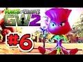 Plants vs. Zombies: Garden Warfare 2 - Gameplay L.E.A.F Rose Quests PART 6