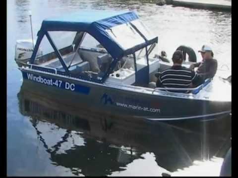 Тест-драйв моторных лодок WindBoat