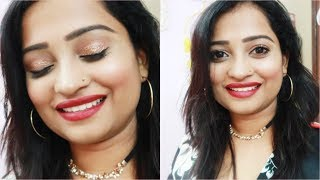 My BIRTHDAY MAKEUP Look | Indian Mom On Duty NY Bae The Balanced Bo...