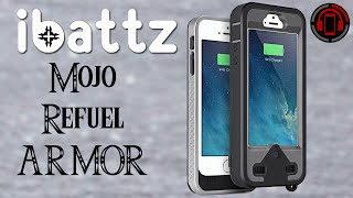 ibattz Mojo Armor Refuel iPhone 5/5s Unboxing & Review [Deutsch/German]