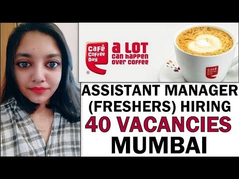 Cafe Coffee Day Mumbai Jobs Openings | Customer Service Jobs | Hotel Management Freshers Apply Now