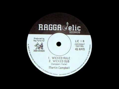 12'' Martin Campbell  Wicked Rule & dub