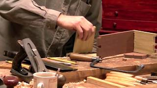 Paul Sellers Makes A Dovetail Box (part 1 Of 4) - The Dovetails