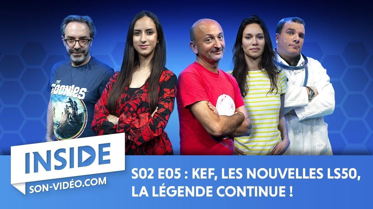 Download KEF, les nouvelles LS50, la légende continue ! - Inside saison 2 épisode 5