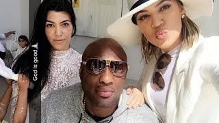 Khloe Kardashian Celebrates Easter With Lamar Odom... in Bunny Ears!