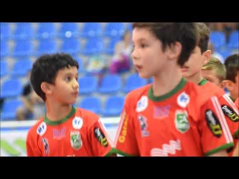 Escolinhas no Festival do Blumenau Futsal