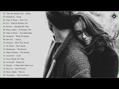 Acoustic Slow Rock Love Songs | Best Slow Rock Love Songs Of All Time