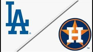 Los Angeles Dodgers vs Houston Astros | World Series Game 3 Full Game Highlights