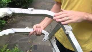 Restoring anodized aluminum: remove old coating and apply a new finish