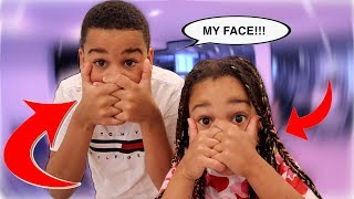 WHAT HAPPENED TO OUR FACES | FamousTubeKIDS