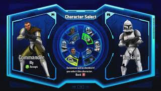 Star Wars The Clone Wars: Republic Heroes Playable Characters