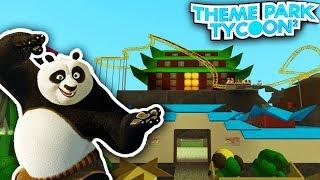 KUNG FU PANDA dans Theme Park Tycoon 2!! - Roblox