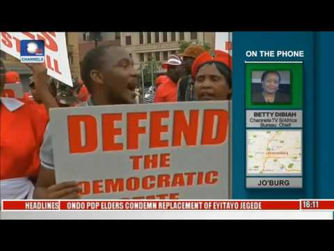 Network Africa: Channelstv S Africa Bureau Chief Updates On Zuma Court Case Pt 2