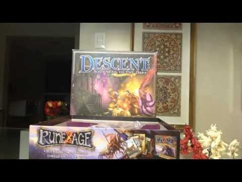 Descent - Shadow Of Nerekhall - Unboxing