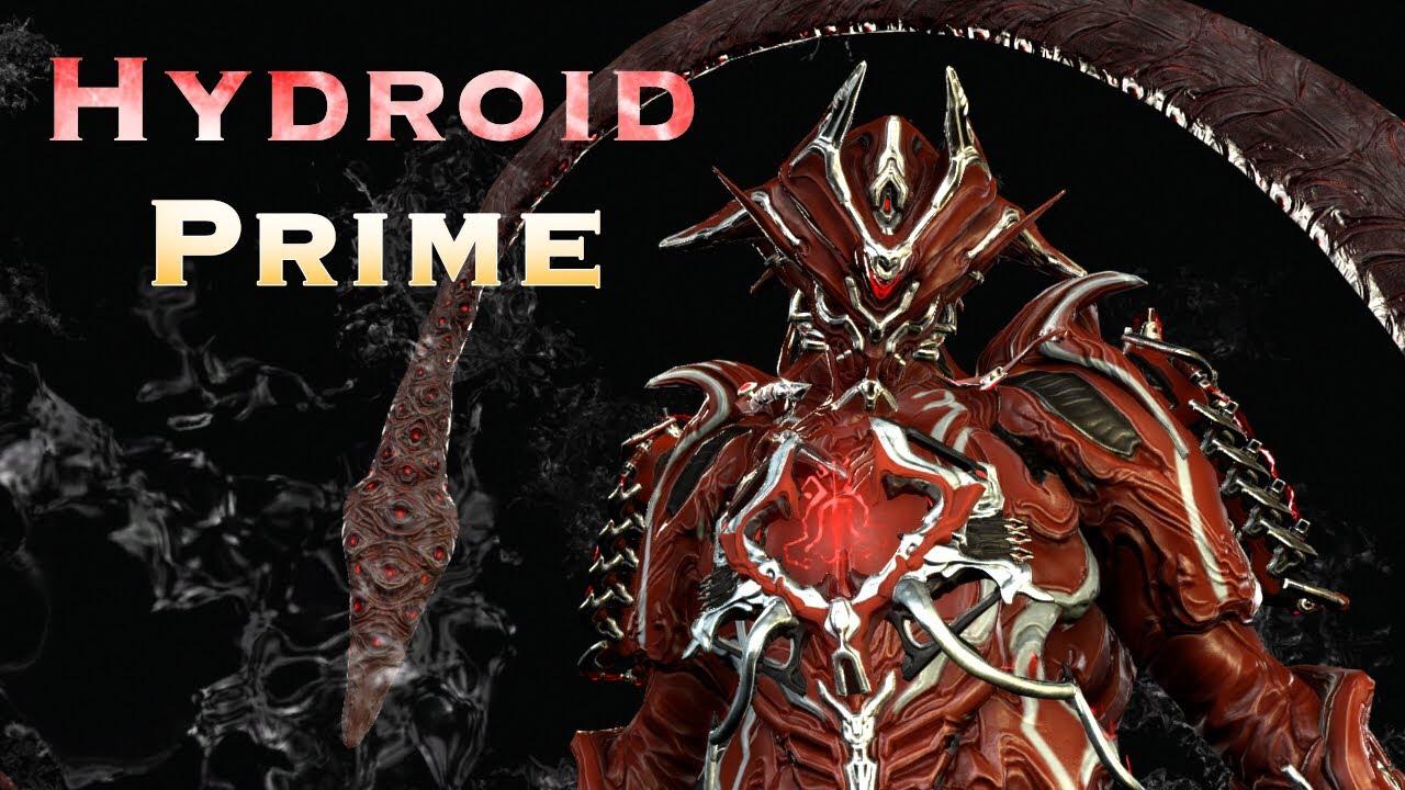 Warframe Hydroid Prime Youtube