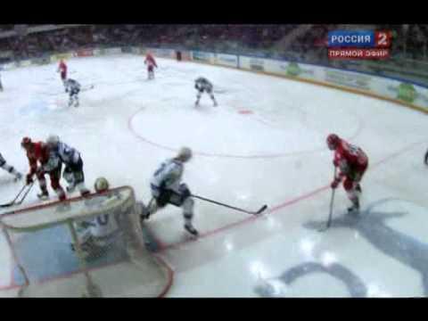 KHL 2010/11: Spartak 5-3 Dynamo Moscow