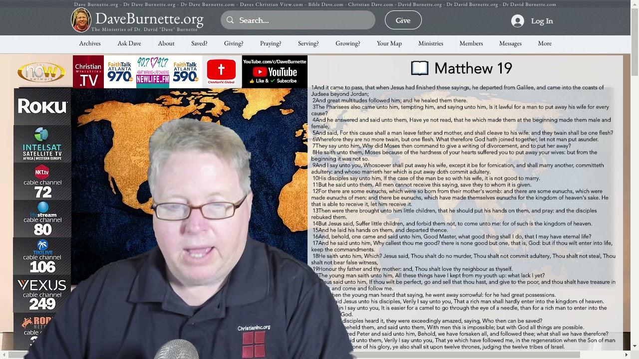 Matthew 19 ✒️ A Heart to Obey