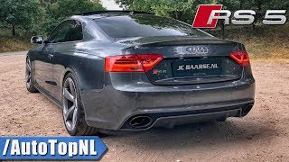 Audi RS5 4.2 FSI V8 | VERY LOUD! MTM Exhaust SOUND | ONBOARD REVS & TUNNEL by AutoTopNL