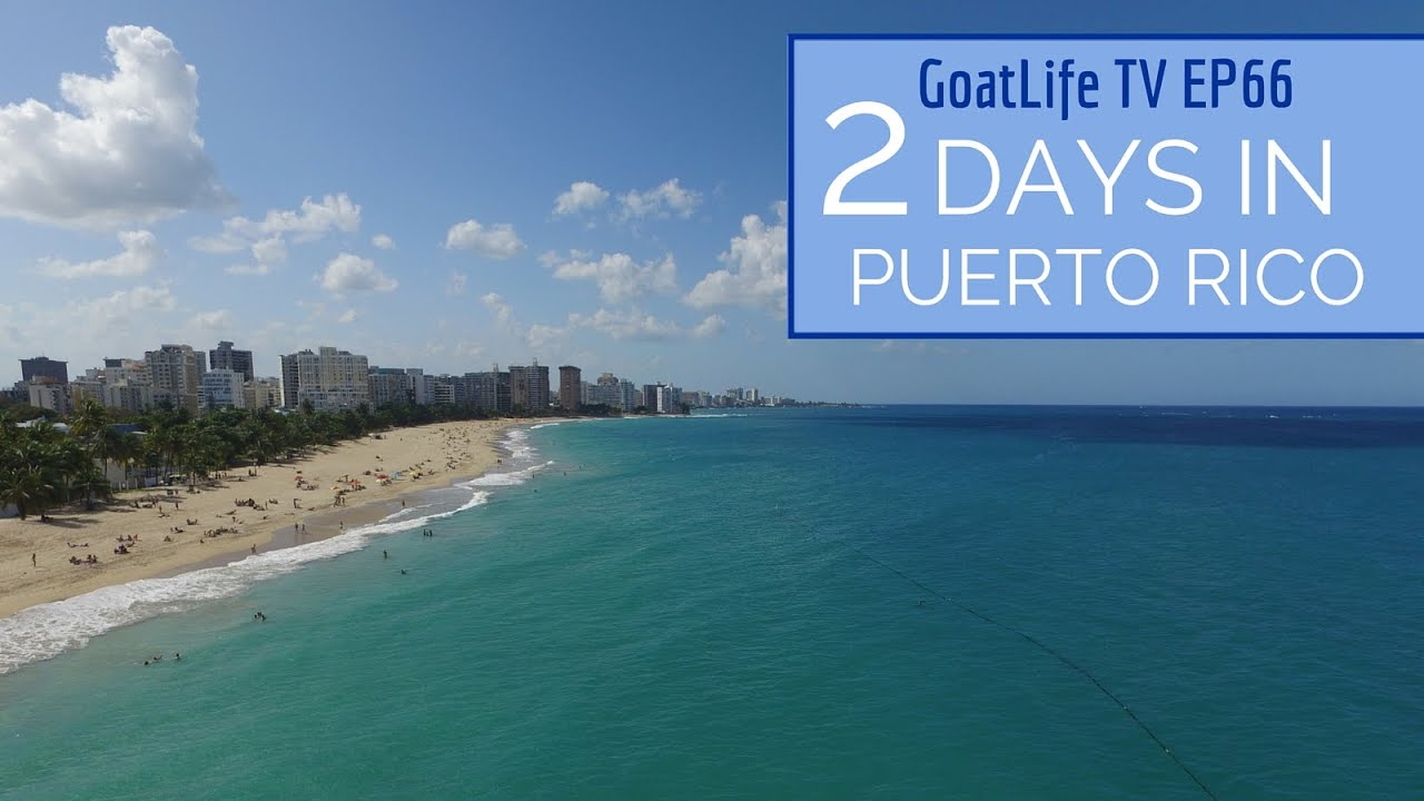 3 Days Travelling in Puerto Rico