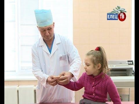 В Елецкой городской детской больнице открылся травматологический пункт