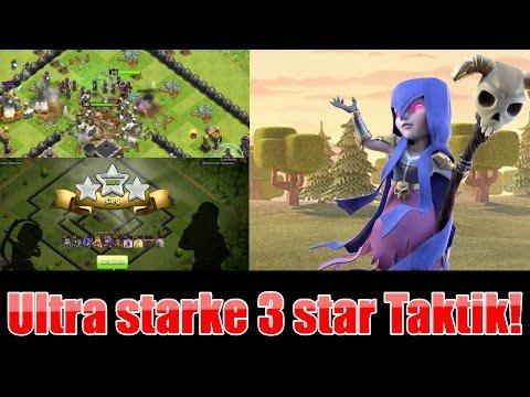Ultra starke 3 star Taktik Th9 / Mass Witches (Clash of Clans deutsch/german)
