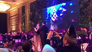 Angel Pieters at Wedding party Feat Maruli Tampubolon  - Endless Love