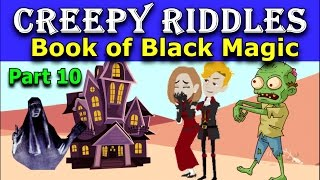 TOP 3 POPULAR CREEPY RIDDLES THAT WILL BLOW YOUR MIND!😜😈  Part 10