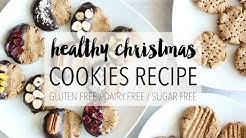 Healthy Christmas Cookies | Easy DIY Holiday Treats Recipe