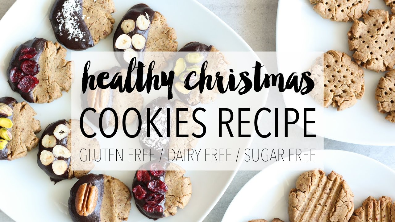 Healthy Christmas Cookies Easy Diy Holiday Treats Recipe