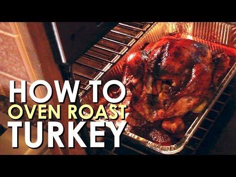 How To Oven Roast Turkey