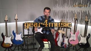 LA Electric Guitar by Gear4music