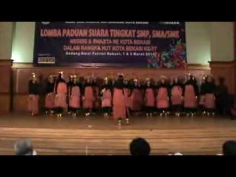 Paduan Suara SMK NEGERI 1 KOTA BEKASI ( Mars Kota Bekasi & Yamko Rambe Yamko )