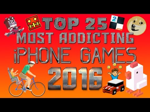 Top 25 Most Addicting iPhone Games of 2016!!!