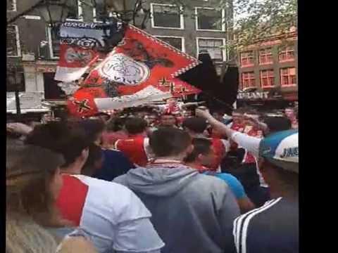 Ajax Kampioen Leidseplein Huldiging Gekkehuis 5 Mei 2013