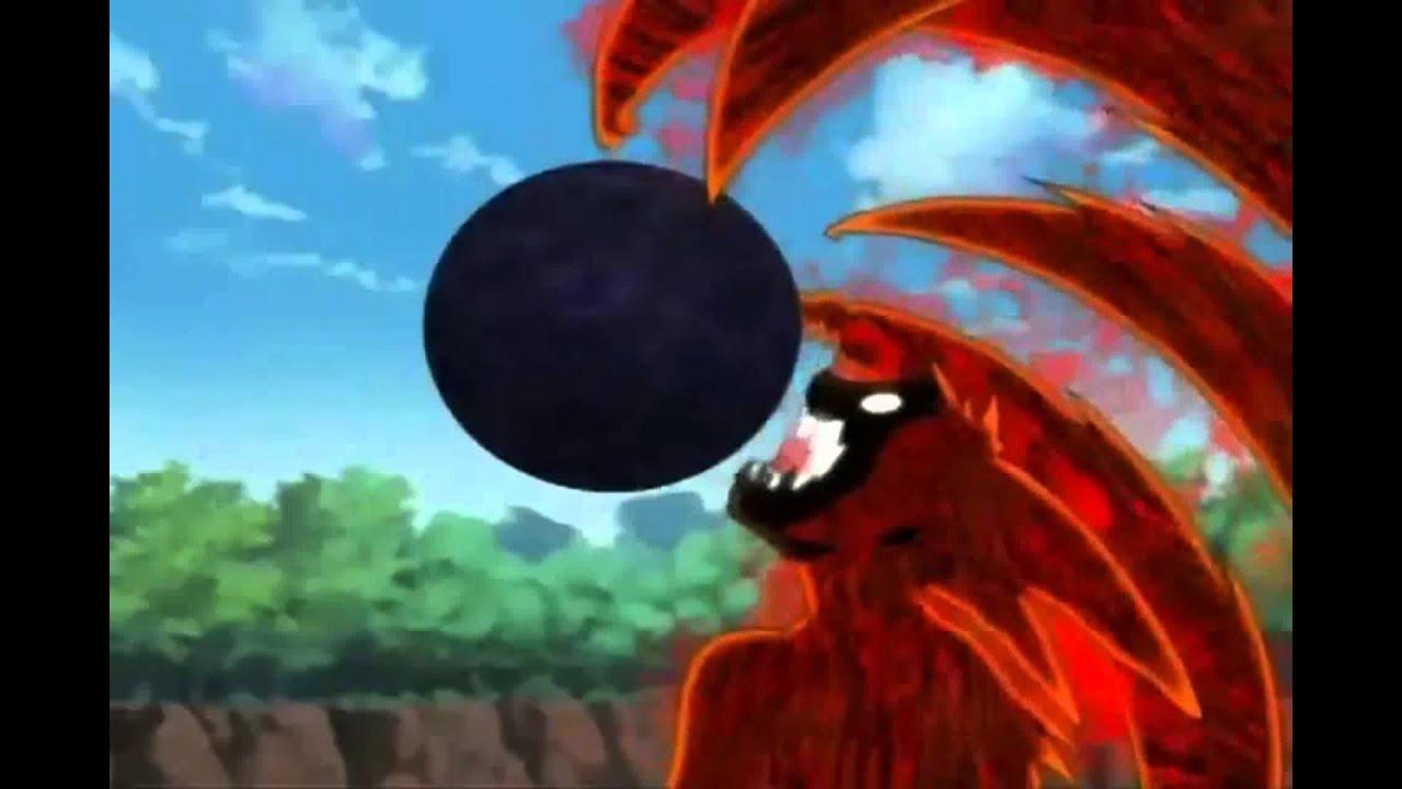Naruto Vs Pain Wallpaper Hd Naruto Shippudem 4 Colas Kyuubi Bijuu Dama Youtube